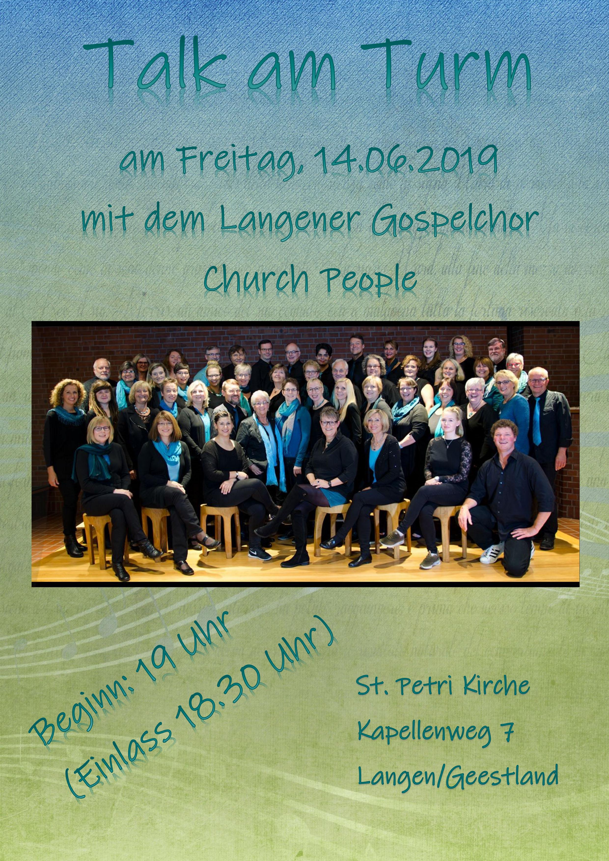 Konzert Talk am Turm 14. Juni 2019